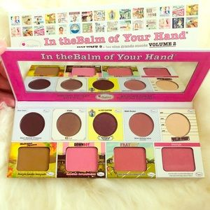 Brand New theBalm Cosmetics Full Face Palette